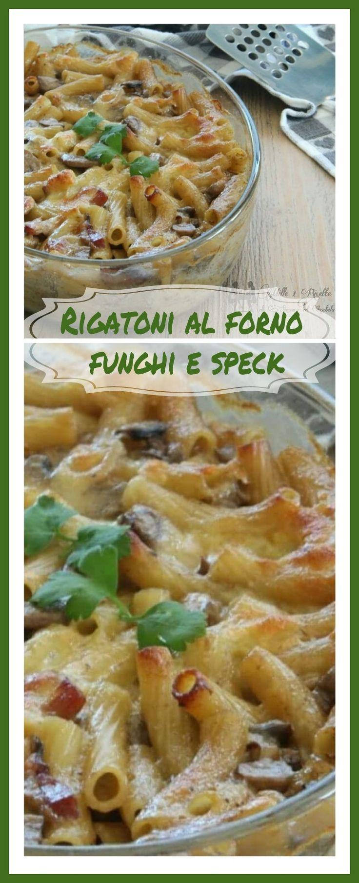 Rigatoni al forno funghi e speck Continua seguirmi su https://www.facebook.com/BlogGialloZafferanoMille1Ricette/ #gialloblog #mille1ricette #foodblog #tasty #sweet #recipe #cucinoio #gzblog #1001ricette #foodblogger #foodporn #ricettefacili #chebuono #delicious #italianfood #cucinaitaliana #foodbloggers #homemade #cucina #chebuono #homemadecooking #italianblog #italiancook #cooking #amocucinare #followme #top_food_photo