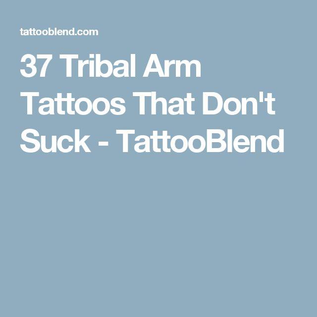 37 Tribal Arm Tattoos That Don't Suck - TattooBlend