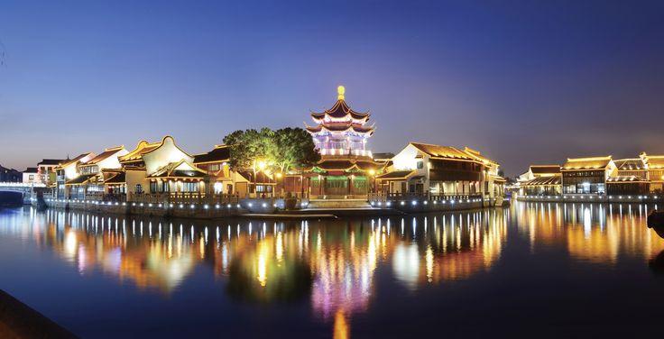 Suzhou Garden at night  kreativemagz.com exariva.com