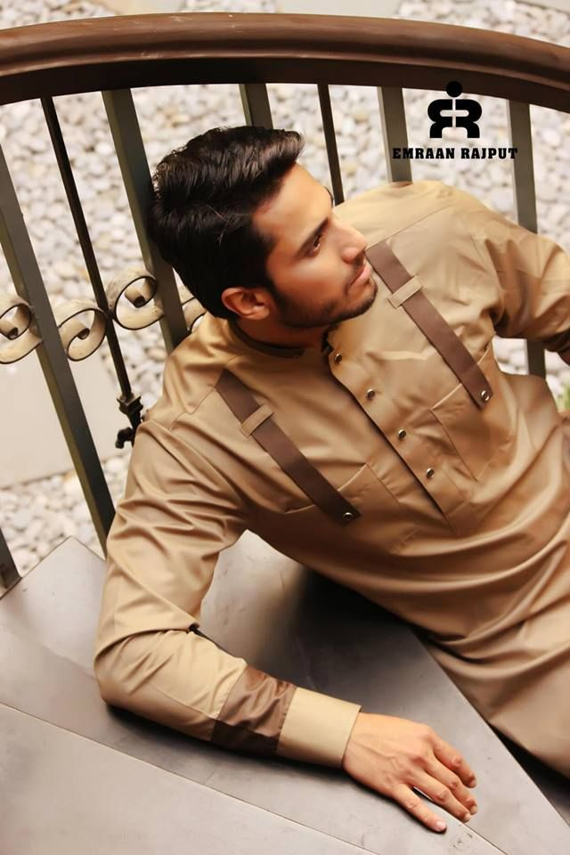 Latest Men Shalwar Kameez Collection 2014 By Imran Rajpot (5)