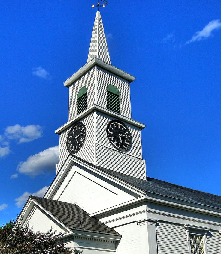 New England Church  'The Temple Crown' by Linda Edgecomb: Edgecomb Photography, Pinterest Photographers