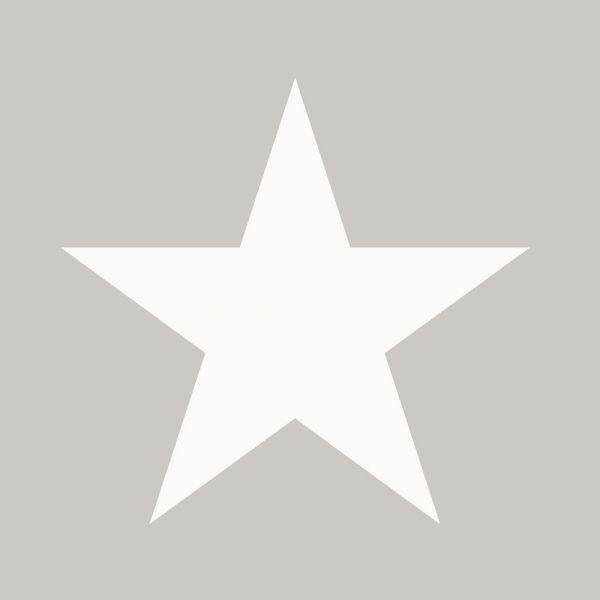 Stilren tapet med stora stjärnor från kollektionen Everybody Bonjour 128702. Klicka för att se fler fina tapeter för ditt hem!