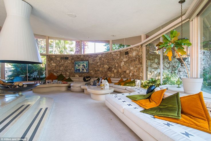 Modern design: The home was originally called The House Of Tomorrow due to its forward-thi...