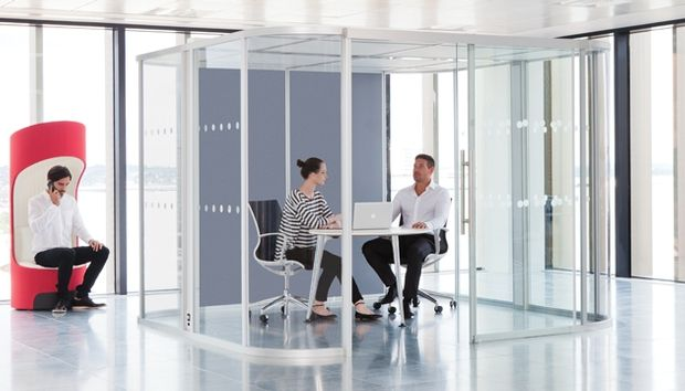 The Vista meeting system is the ideal accompaniment to any seating or table system from the Boss Design Group