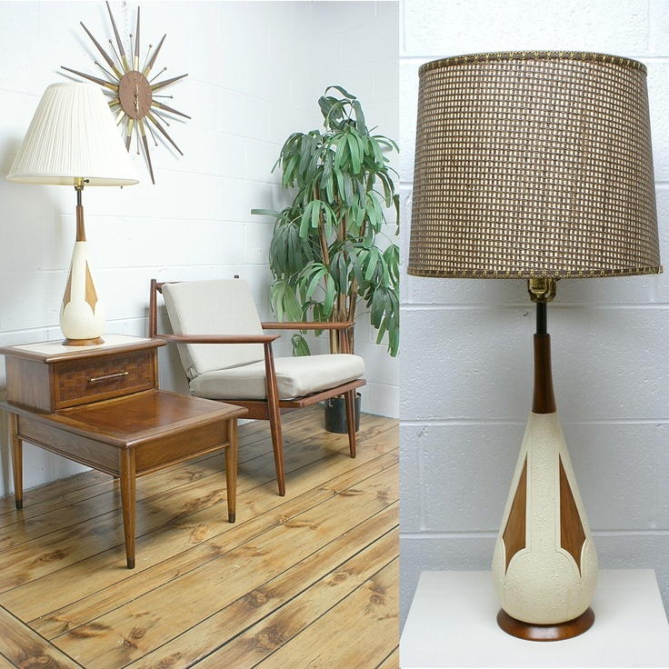 Melrose Mid Century Brass White Shade Floor Lamp: 1000+ Images About Wild Lamps From The 50s And 60s On