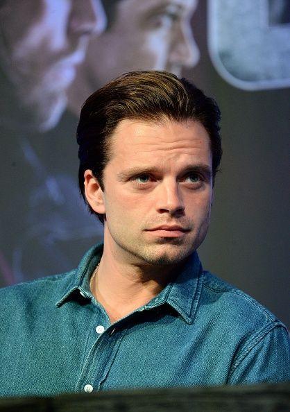 Sebastian Stan   Captain America: Civil War Press Tour