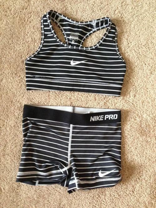 Pinterest @esib123  nike pros | Fitness Apparel | Nike Workout gear http://www.FitnessApparelExpress.com