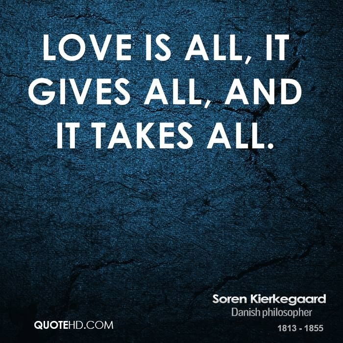 Soren Kierkegaard Quote shared from www.quotehd.com