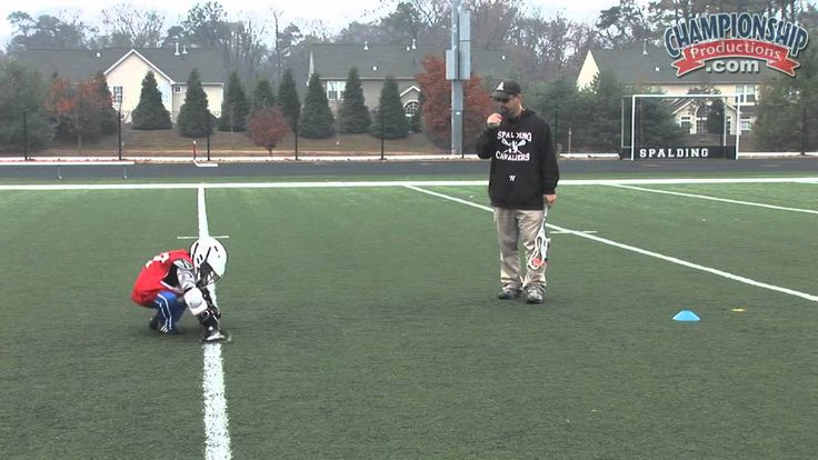 Face-Off Drill / Stick Handling & Shooting Drills for Youth Lacrosse