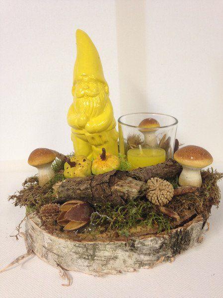 Gartendekoration - Herbstliche Dekoration - ein Designerstück von blumen-atelier…