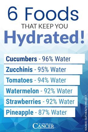 """Hydration throughout the day is so important. Try incorporating these foods into your daily diet as well to keep you hydrated: cucumbers, zucchinis, tomatoes, watermelon, strawberries, & pineapple. Water helps protect the vital organs against cancer. Click through to learn more as Ty Bollinger explains more about water & cancer prevention. Most people don't realize that a deficiency in this key """"nutrient"""" can cause so many ailments, including cancer. Please re-pin to help us educate others."""
