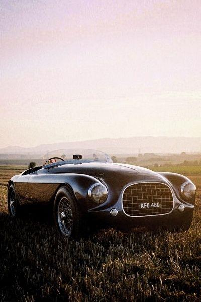 Enzo Ferrari 212 Touring Barchetta, 1951.