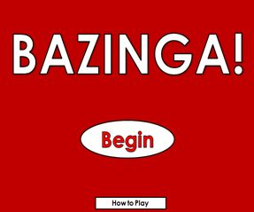 Freebie Powerpoint Game, Bazinga! (use for a review game, any subject)