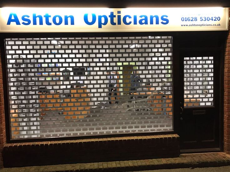 Our RSG5600 Shop Front Roller Shutters offer security as well as visibility to your retail outlet; fitted recently in High Wycombe.