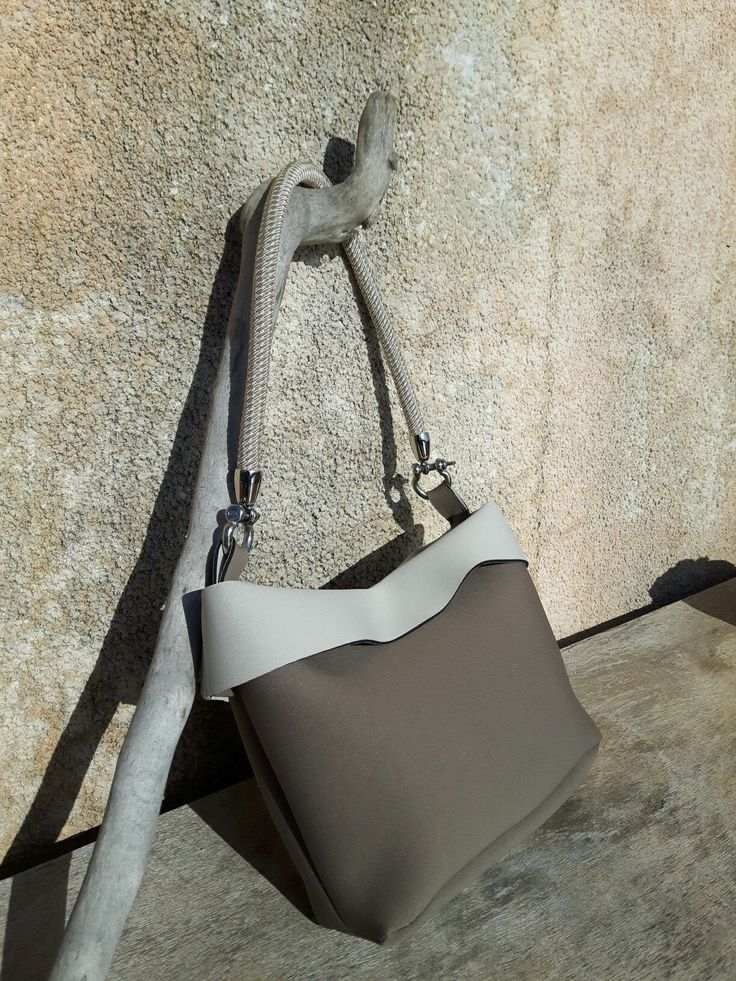 Borsa in neoprene Hand Made handbag  - by Polesse