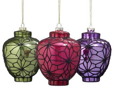christmas glass ornaments - Google Search