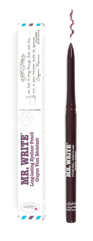 theBalm Cosmetics Mr. Write® Long Lasting Eyeliner Pencil (Seymour Romance)  #liners #theBalm #eyeliner