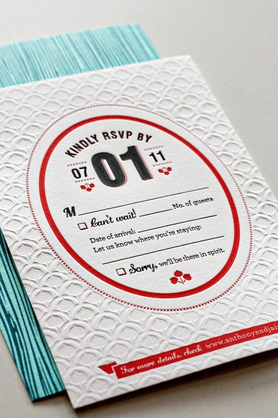 カラフルで楽しい招待状♪結婚式の参考になる手作りペーパーアイテム | Mikiseabo -ミキシーボ-