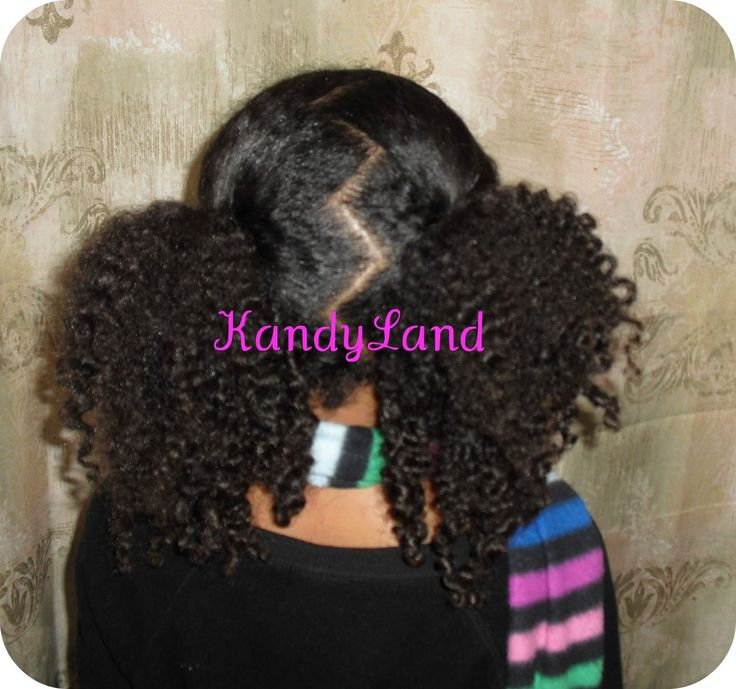KandyLand: 25 Minutes Or Less Styles: Afro Puffs