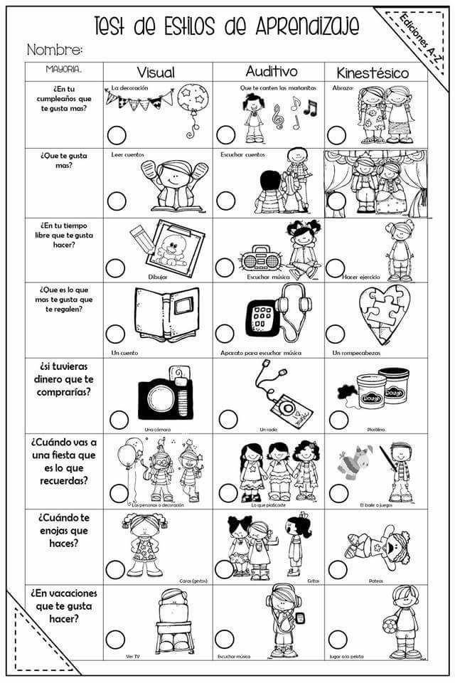 test estilos de aprendizaje kolb pdf