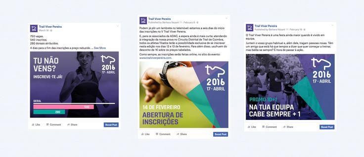 Social media management for Trail Viver Pereira