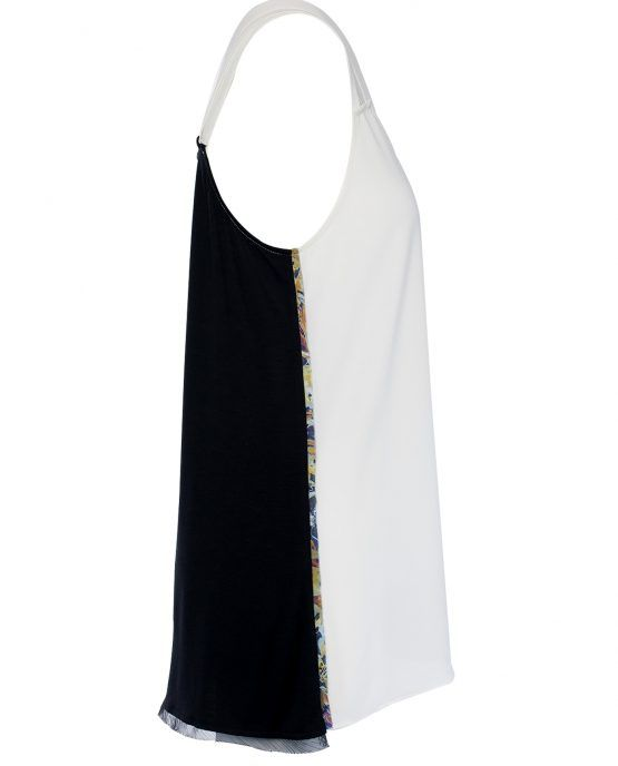 house-of-harlow-tripple-strap-tank-top-color-block-side