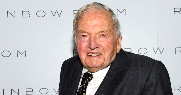 "The most ""human"" thing that piece of SH*T ever did! Globalist David Rockefeller Dead at 101"