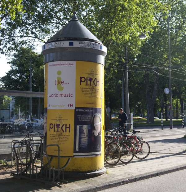 Pitch Festival 2012 poster campaign. Created by Festina Lente Collective - branding and digital services - in Amsterdam, the Netherlands. www.festinalentec...