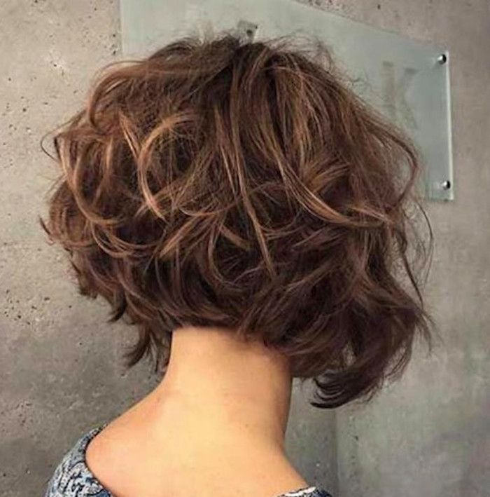 The Chicest Layered Haircuts For Any Hair Type Short Layered Curly Hair Short Layered Haircuts Short Curly Haircuts