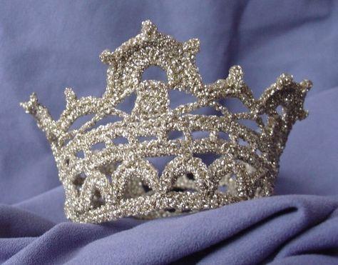 en virkad prinsesskrona - mönster