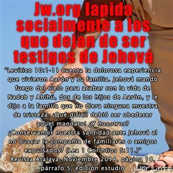 Unos de los aspectos más polémicos dentro de la secta de los Testigos de Jehová, son las técnicas de manipulación mental ejercidas por este grupo religioso a sus miembros. Aquí en este post puede encontrar valiosa información que le ayudará a entender esta problemática...