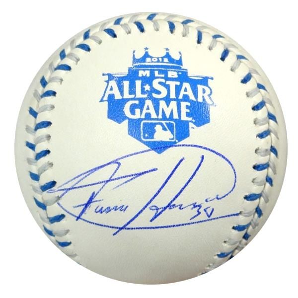 Felix Hernandez Autographed Official 2012 All-Star Baseball Seattle Mariners MLB Holo Stock #61543