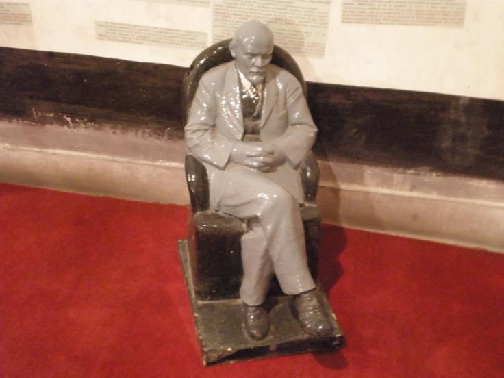 Bucharest, museum of the old regime, meet Mr Lenin