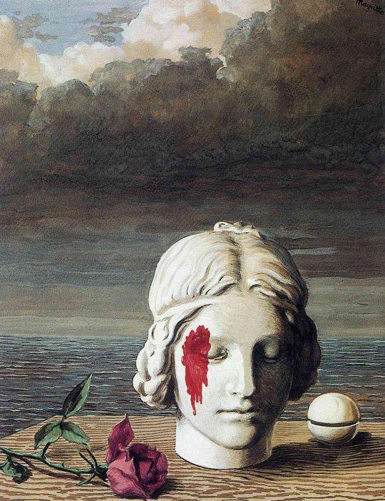 Rene Magritte - Memory, 1948