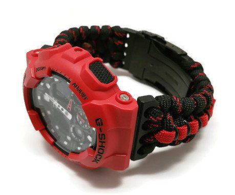 Image of Thin Red Line Paracord 2.0 - Fire Rescue Inspired