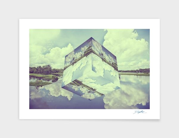 """""""Amazon Cube"""" - Numbered Art Print by David Copithorne on Curioos"""