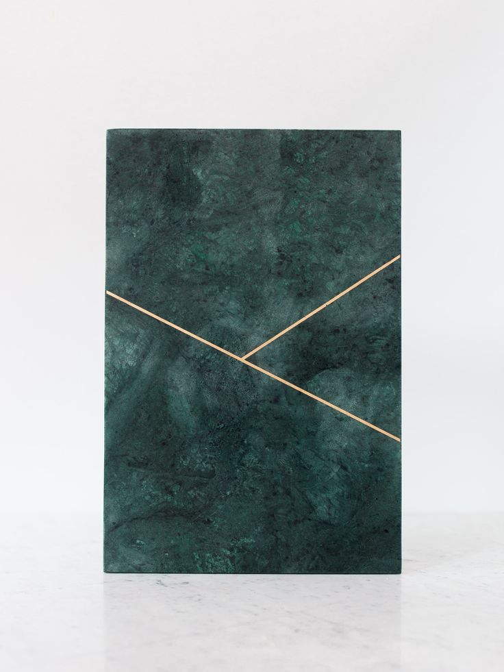 Green Marble Plate