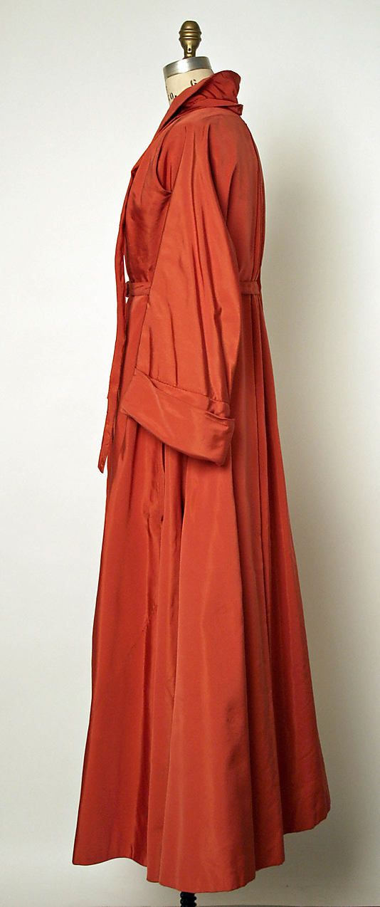 Evening coat, House of Dior, Date: fall/winter 1947–48
