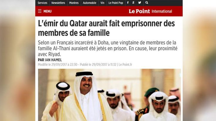 Le Point: Qatar arrests 20 opponents from al-Thani ruling family – Aldiplomasy