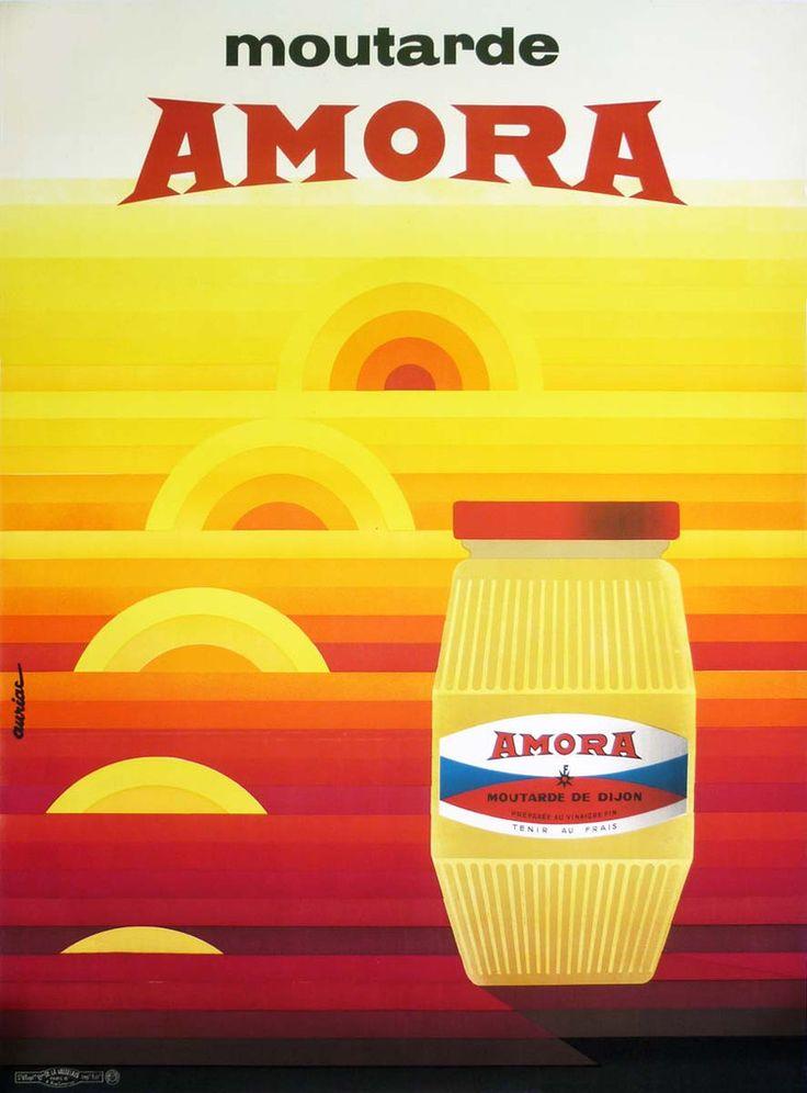 Amora Moutarde - 1971 - illustration de Jacques Auriac -