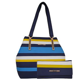 Buy Arcad Tote Bag For Women, 29464, Blue at 99 AED - AWOK Online Store