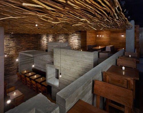 Restaurant Design NYc Wooden Interior by Sebastian Mariscal StudioPio Pio, Modern Living, Hospitals Design, Modern Architecture, Piopio, Restaurants Design, New York, Restaurants Interiors Design, Hells Kitchens
