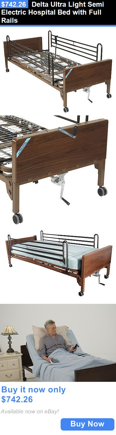 semi electric hospital bed instructions