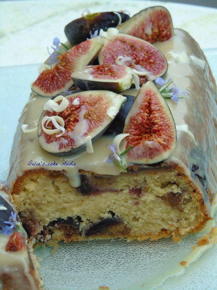 Fig loaf cake