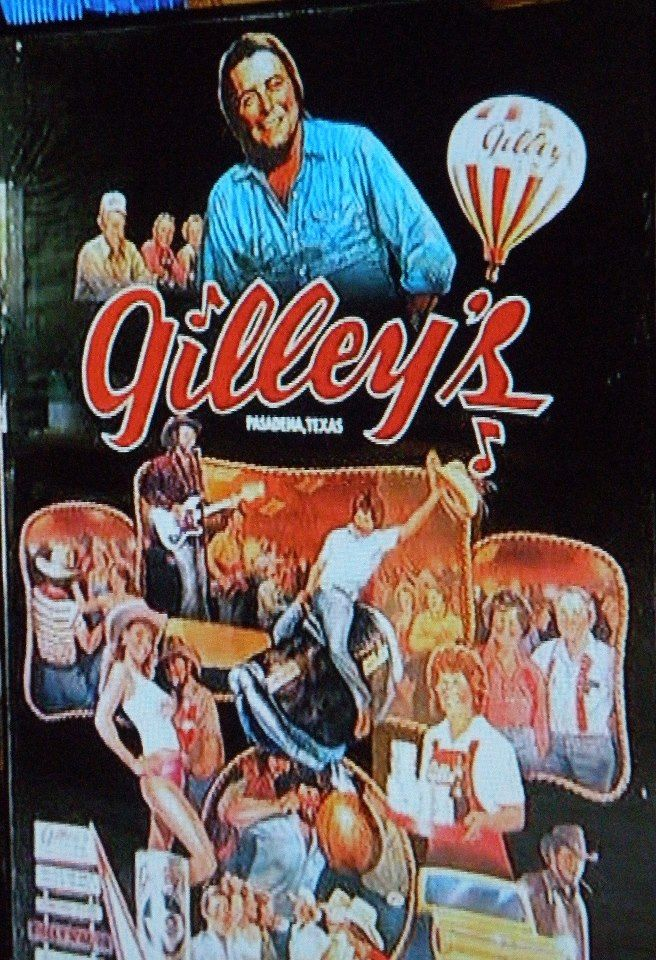 Gilley's was a bar/honky tonk founded in 1971 by country singer Mickey Gilley in Pasadena, Texas. It was the central location in the 1980 movie Urban Cowboy.