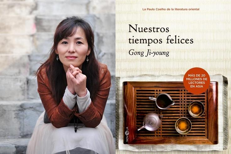 """Recomendación especial para este fin de semana. """"Nuestros tiempos felices"""" de la escritora sensación en Asia. (con más de veinte millones de ejemplares de sus títulos vendidos en Asia). Se llama Gong Ji-Young es una de las autoras más sobresalientes del panorama narrativo actual."""