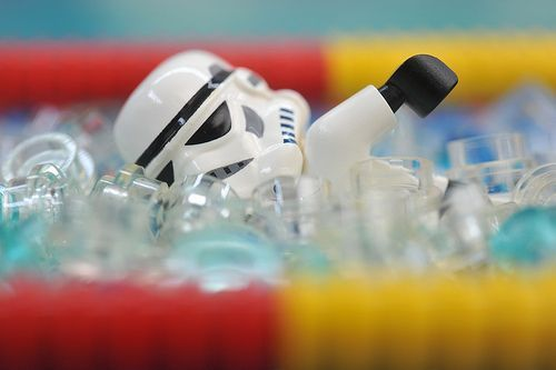 StormTrooper Olympics 100m Freestyle Swimming