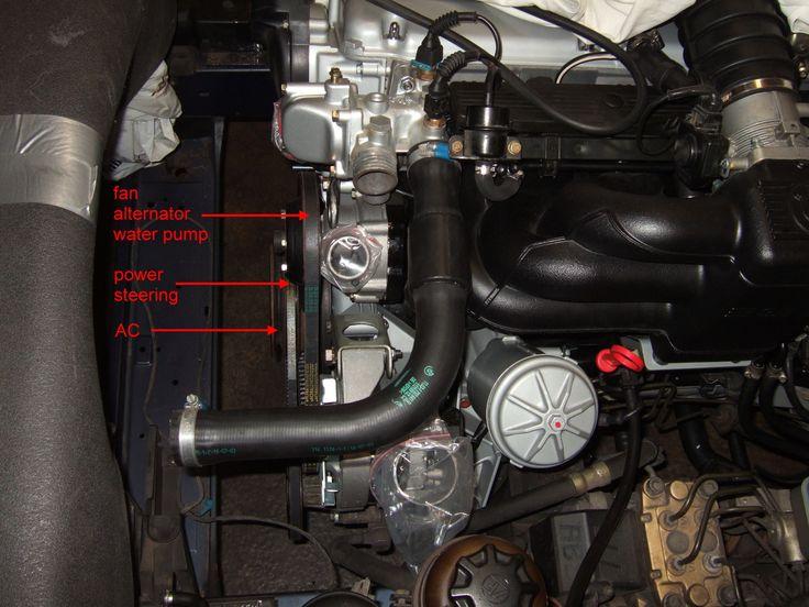 Регулировка и замена приводных ремней на BMW 5 серии E34  Однажды вы столкнетесь с необходимостью замены одного или нескольких приводных ремней. Это может произойти как по причине его обрыва, так и в рамках планового технического обслуживания.  Ищи подробности на