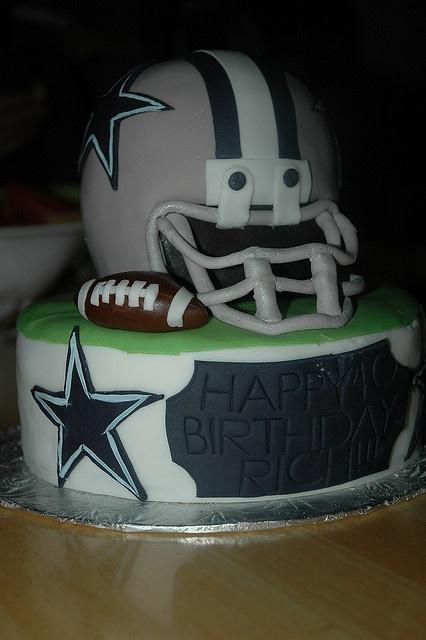 90 best Dallas Cowboy Cakes images on Pinterest Cowboy cakes