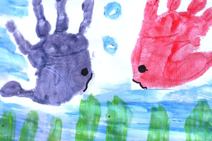 wikiHow to Make Handprint Art -- via wikiHow.com